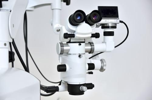 Microscope pour microchirurgie
